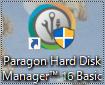 Paragon Backup&Recoveryを起動する。