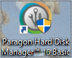 Paragon Backup&Recoveryを起動する。