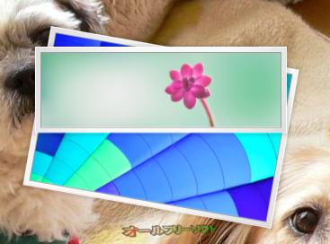 HTC Home--写真のウィジェット--オールフリーソフト