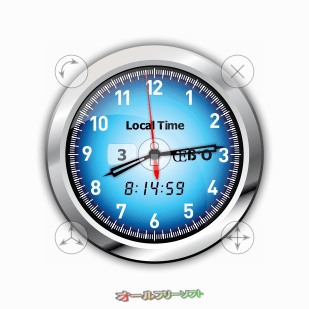 Vector Clocks--ボタンが表示--オールフリーソフト