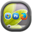Desktop Icons Spacing Controller--オールフリーソフト