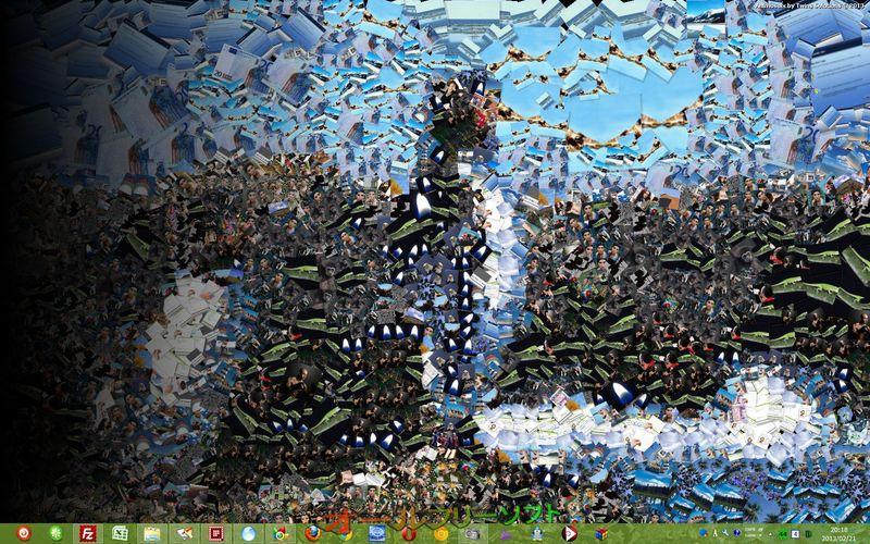 Animosaix--壁紙--オールフリーソフト