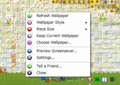 Animosaix--右クリックメニュー--オールフリーソフト