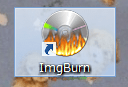4.ImgBurnを起動する。