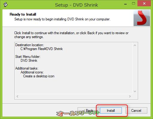 ●「Install」(インストール)をクリックする。