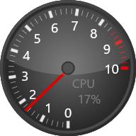 KMeter--起動時の画面--オールフリーソフト