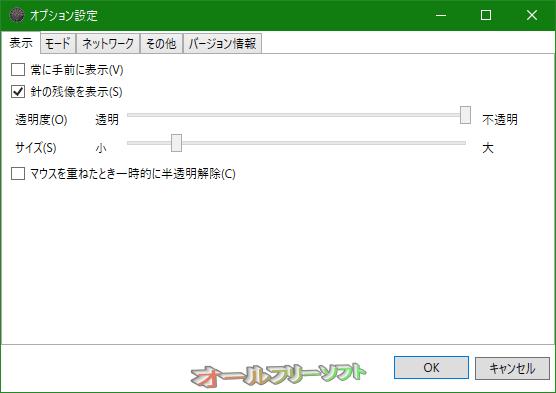 KMeter--表示--オールフリーソフト