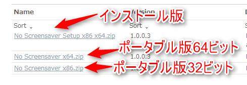 No Screensaver--オールフリーソフト