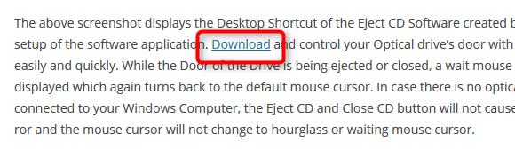Daanav Eject CD--オールフリーソフト