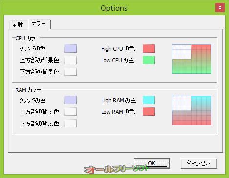 RAMRush--オプション/カラー--オールフリーソフト