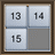 15 Slide Puzzle--オールフリーソフト