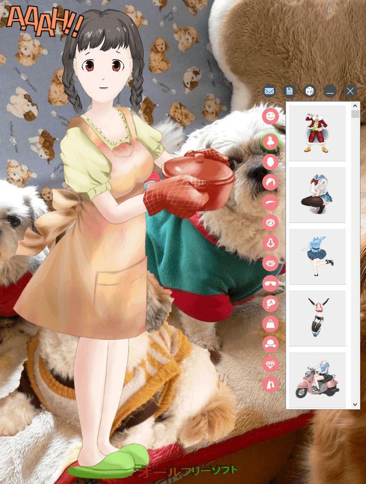 DrawWiz--起動時の画面--オールフリーソフト