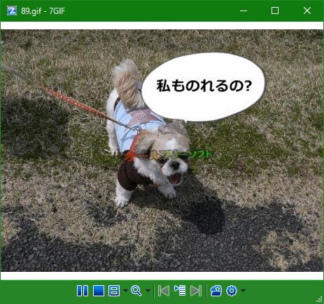 7GIF--GIFアニメを表示--オールフリーソフト