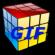 Free GIF 3D Cube Maker--オールフリーソフト