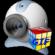 Free GIF 3D Cube Webcam--オールフリーソフト