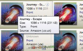 Album Art Downloader--オールフリーソフト