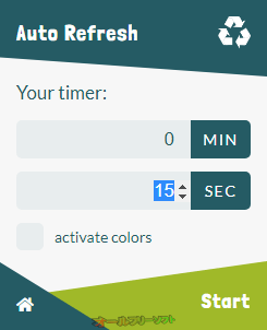 Auto Refresh--オールフリーソフト