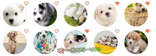 Cute Dogs & Puppies Wallpapers HD New Tab--オールフリーソフト