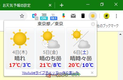 お天気予報--オールフリーソフト