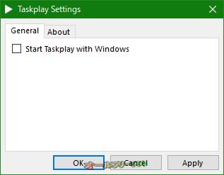 Taskplay--General--オールフリーソフト