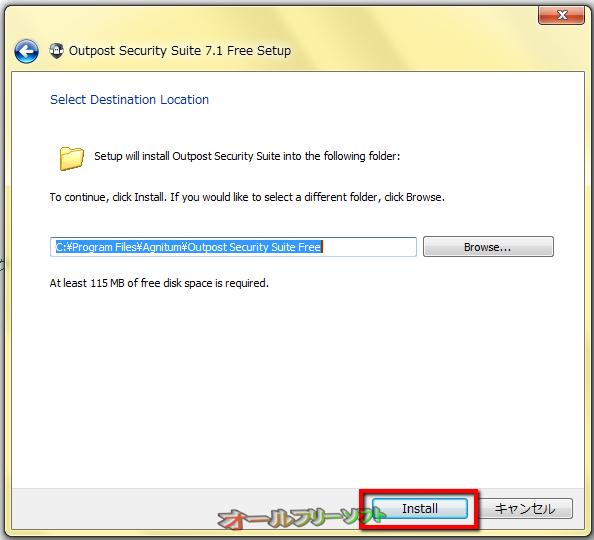 5.「Install」をクリックする。