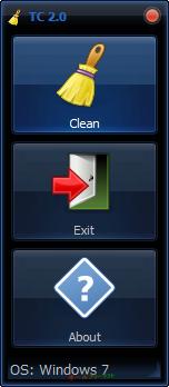 Tray Cleaner--起動時の画面--オールフリーソフト