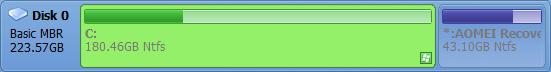 AOMEI OneKey Recovery--オールフリーソフト