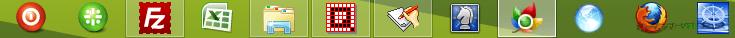 Aero Taskbar Color Changer--画像を背景に適用--オールフリーソフト